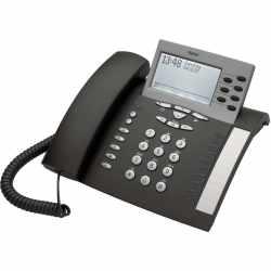 Tiptel 85 system UP0 Digitaltelefon ISDN-Telefon anthrazit