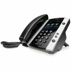 Polycom Telefon VVX 501 SIP (ohne Netzteil)...