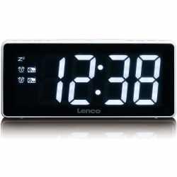 Lenco CR-30 Radiowecker mit 3 LED Display Uhrenradio...