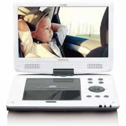 Lenco DVP-1063 tragbarer 10 Zoll DVD-Player mit DVB-T USB...