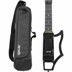 Jamstik 7 MIDI Electric Guitar Gitarre mit Reisetasche...