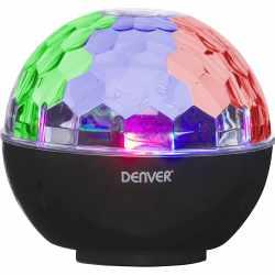 Denver Bluetooth Speaker Lautsprecher mit Disco Licht...