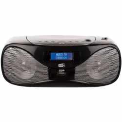 Dual DAB-P 160 Radio Digitalradio CD Player Boombox schwarz