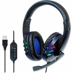 Manhattan Over Ear USB Headset Kopfhörer...