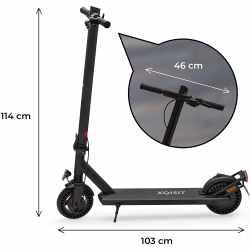 XQISIT X-100 E-Scooter Elektroroller für Erwachsene...