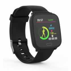swisstone SW 610 HR Smartwatch Fitnessuhr Tracker schwarz