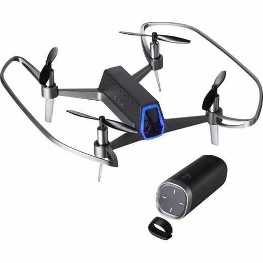 Shift Red Drohne Quadcopter mit Einhand-Controller 11 min Flugzeit schwarz