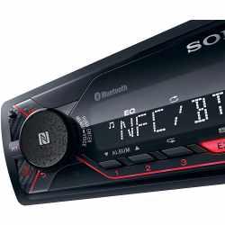 SONY 1-DIN Autoradio DSXA410BT Digital Media Player mit Bluetooth schwarz