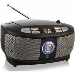 Dual P49-1 Radio Boombox CD-Player Analogradio Stereo...