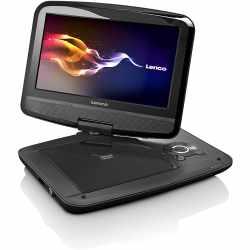 Lenco DVP-9413 9 Zoll  DVD/DVB-T2-Player mit KfZ-Halter...