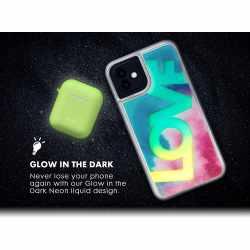 LAUT Schutzhülle Liquid Glitter LOVE für iPhone...