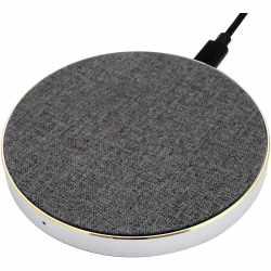 Networx Wireless Charger Stoffbezug Qi-Ladepad...