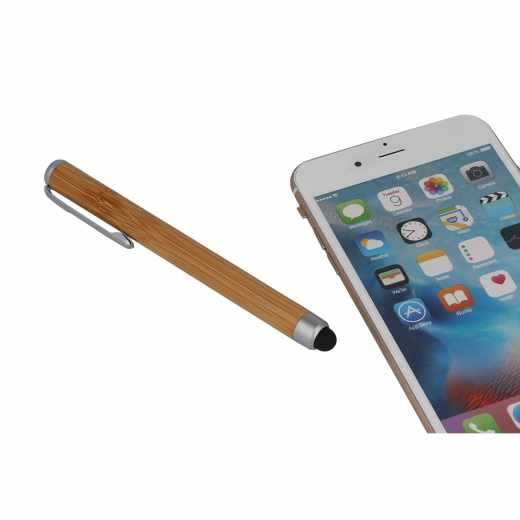 Networx Nature Stylux für Tablet/ Smartphone Stift Pencil Bambus Holzoptik