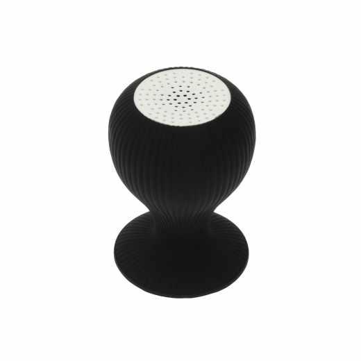 Networx Bubble Speaker Lautsprecher mit Saugnapf Bluetooth Universal schwarz