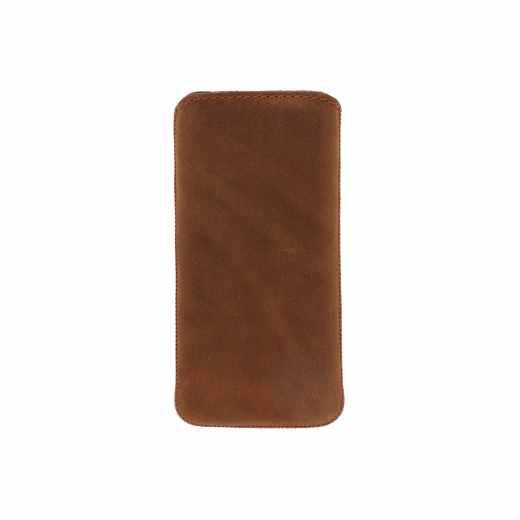 Networx EasyOut Oiled Schutzhülle Handytasche Leder für iPhone 5/5s braun - neu