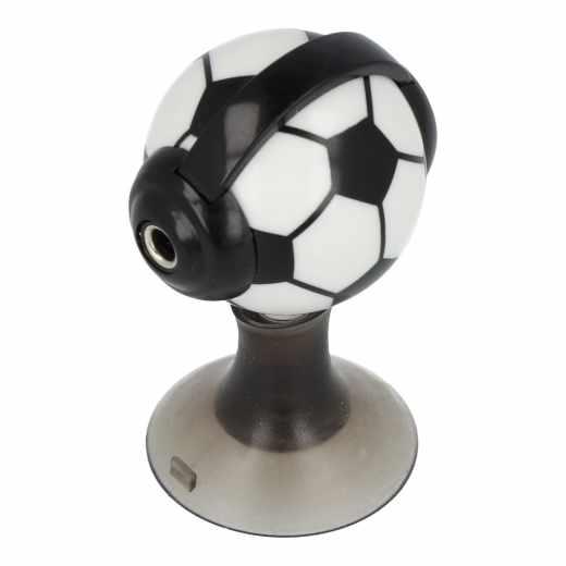 Networx Kopfhörer Splitter Fußball schwarz weiß