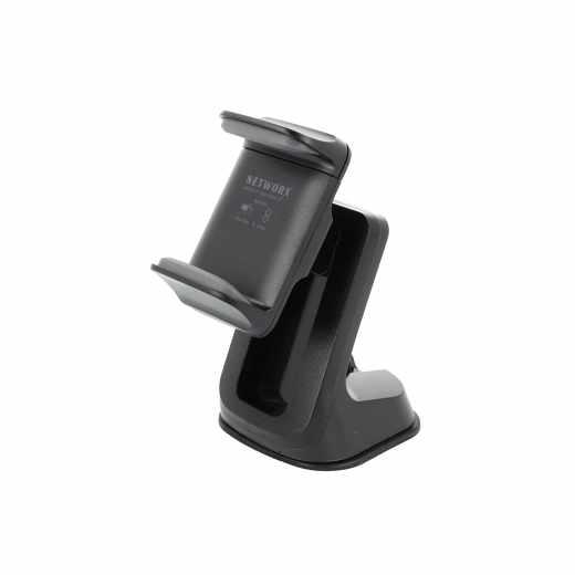 Networx Universal KFZ-Halterung für bis zu 6 Zoll Smartphones schwarz